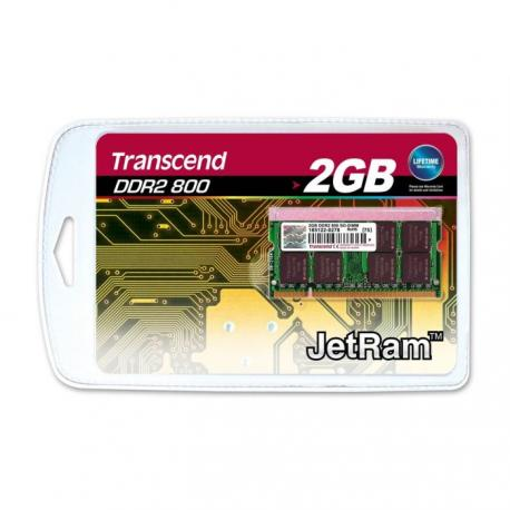 Barette de ram so-dimm 2 GO DDR2 800 TRANSCEND ou PATRIOT